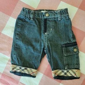 Jeans lapel nova check Burberry 0 / 3 months